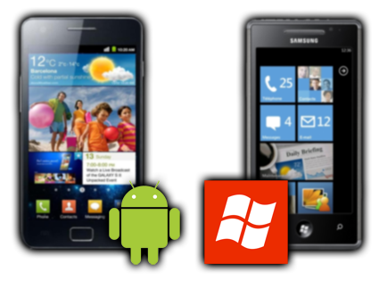 <span>Desarrollo</span> en los <span>sistemas moviles</span>: <span>Android</span> y <span>Windows Phone</span>