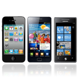 3 Main Smartphone: iPhone, Android and Windows Phone